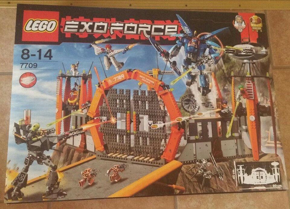 LEGO Exo-force  7709 Sentai Hauptquartier Neu und und und OVP ef8170