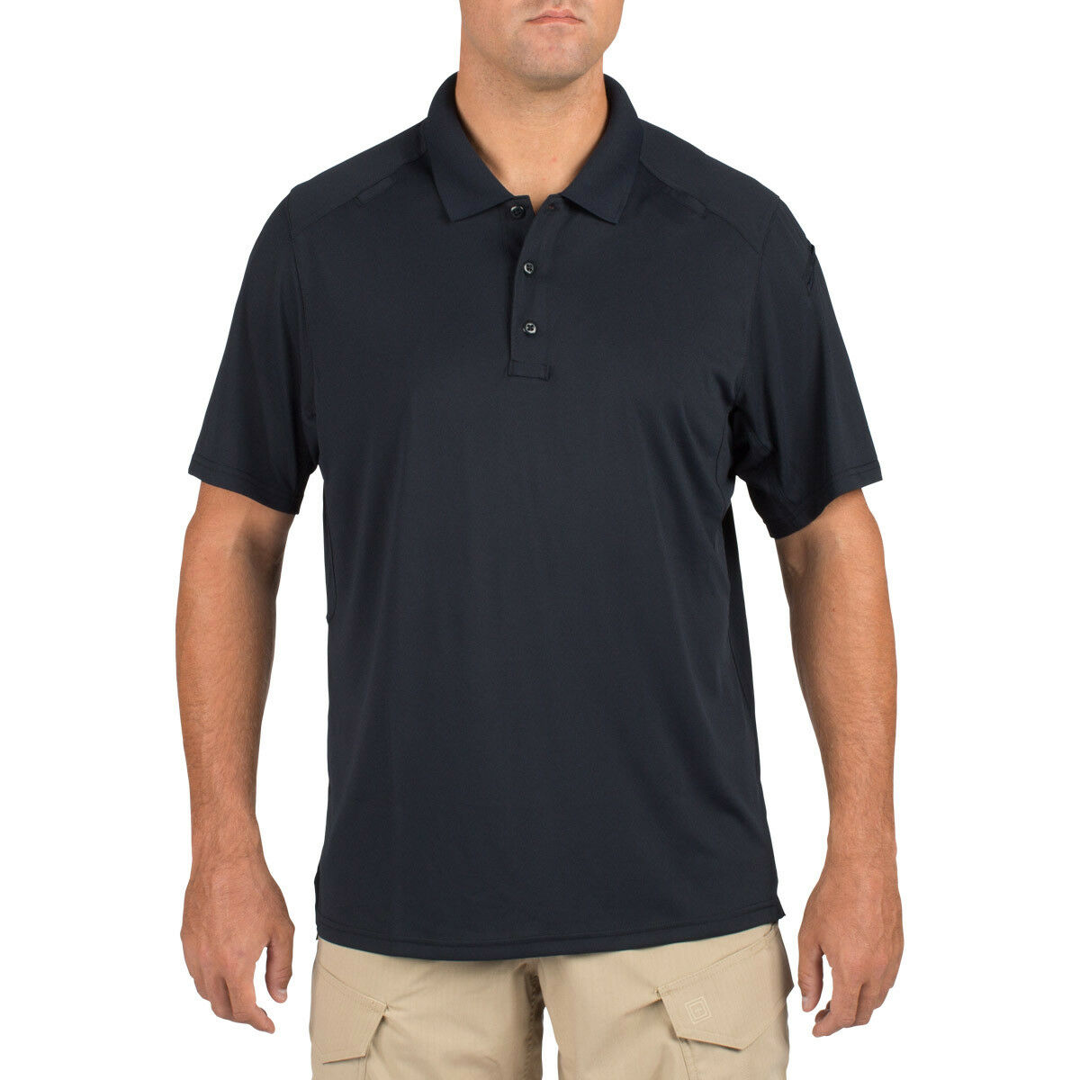 5.11 Helios Mens Polo Tactical Marine Cadet Shirt Hiking Short Sleeve Dark Navy