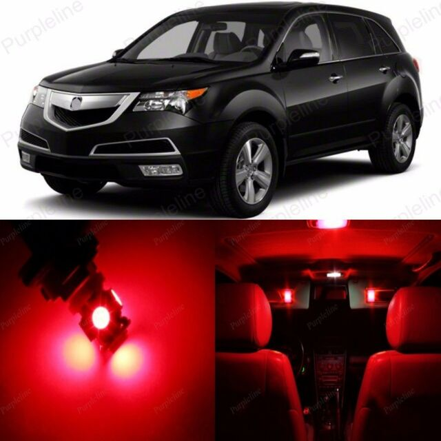 21 X Red LED Interior Lights Package For 2007