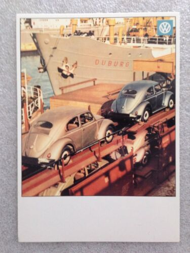 Volkswagen Own It! Off To New York Post Card 1st On  Car Postcard