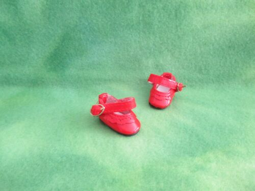 "1-5//8/"" RED MARY JANE DOLL SHOES FOR BONEKA 10/"" OR KISH 11/"" MARY KATE AND KELSEY"