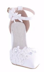 Image Is Loading Off White Diamante Pointed Toe Wedding Heels Sandals