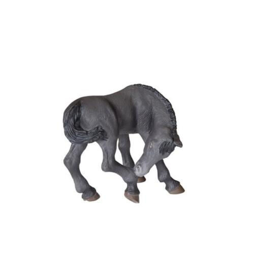 Horse RETIRED *NEW* PAPO 51499 Black Lusitanian Foal 7cm