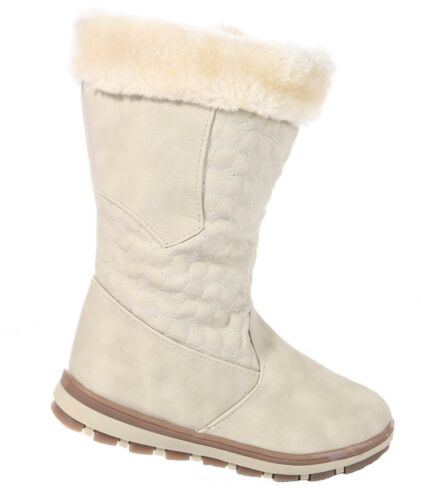 Girls Boots Fur Lined Long Ankle Boots Shoes Trainers School All Season Fashion