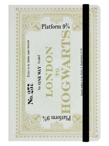 Harry Potter A5 Notizbuch Hogwarts Express Ticket
