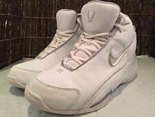 Nike Air Flight Dime Dropper White Leather Athletic Shoes NIB Size 9.5 M