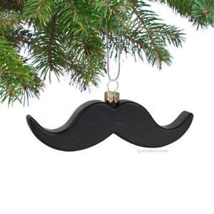 Mustache Christmas Tree Ornament Gift Present Unique ...