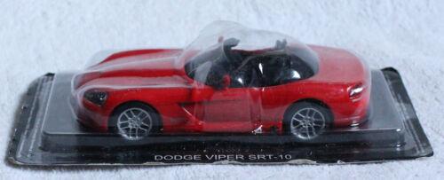 DODGE viper srt-10 rouge BLISTER 1:43 IXO//ALTAYA voiture miniature