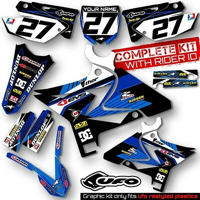 2002-2014 YAMAHA YZ 125-250 Restyle UFO Dirt Bike MX Graphics kit  Decals Deco