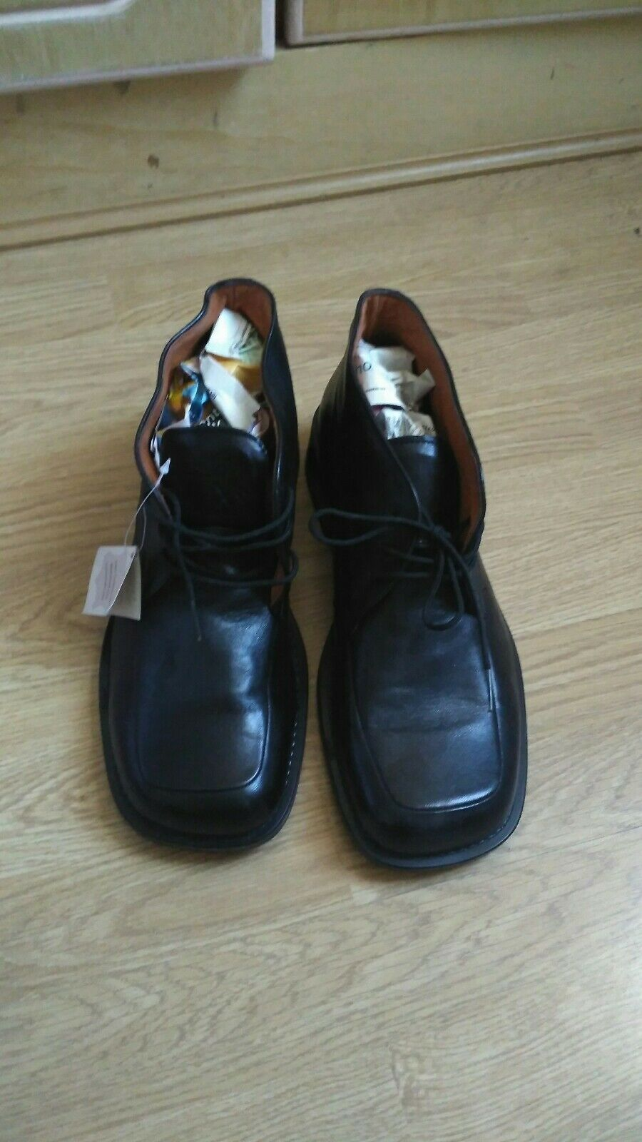 Mens black leather 46 TONY BOY shoes. new condition. size 46 leather ( 11) 9e1f8d