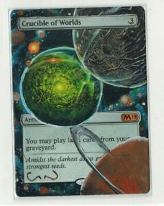 Crucible-of-Worlds-Altered-Full-Art-MTG-Magic-Commander-EDH-Birthday-Gift-2020