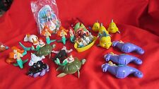 26 Pc Disney McDonald's Burger King Happy Meal Little Mermaid Collectible Toys