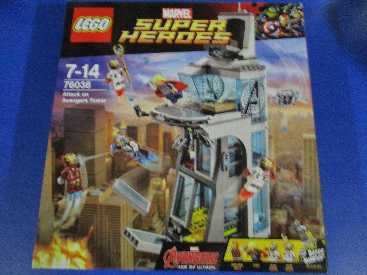 Lego Marvel Super Heroes 76038 76038 76038 Avengers número 5 nuevo embalaje original 0b7467