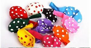 10-x-POLKA-DOT-BALLOONS-12-034-INCH-mixed-colours