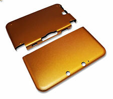 Nintendo 3DS XL 3DSXL Gold Aluminium Metal Case Cover Shell Housing UK Seller