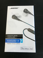 Bose SoundTrue OR Soundsport In-Ear Headphones Charcoal Blk Cranberry New Sealed