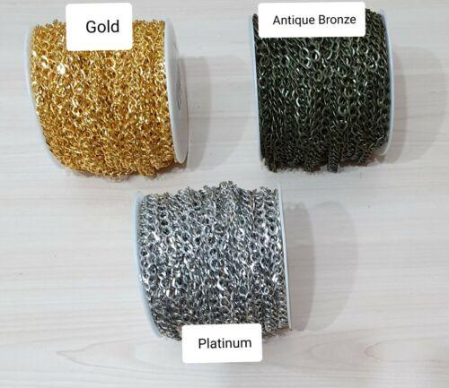 Cadena De Giro Con Borlas Estilo Pendientes Bronce Cobre Oro Plata Platino Bronce