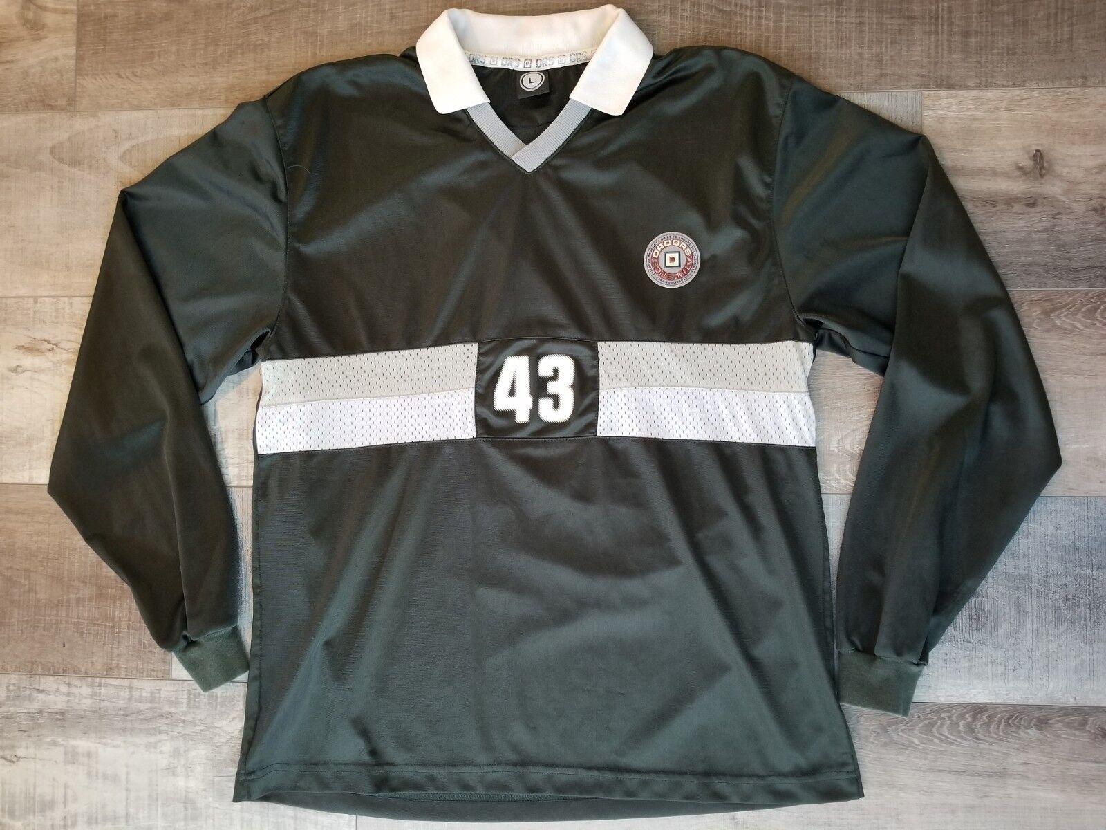 Droors jersey vintage 90s longsleeve skate large L