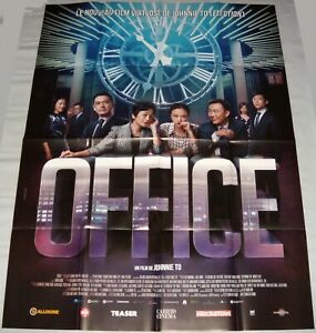 Office 華麗上班族 Johnnie To 杜琪峰 Hong Kong Chow Yun Fat 周润发 Large French Poster Ebay