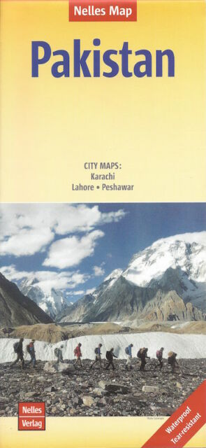 Nelles Pakistan Map *FREE SHIPPING - NEW*