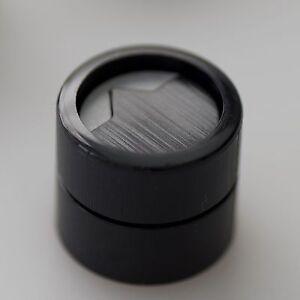 Hawkeye-knob-solid-black-x-grey-3knobs-pack-Beatwalk-15sp001