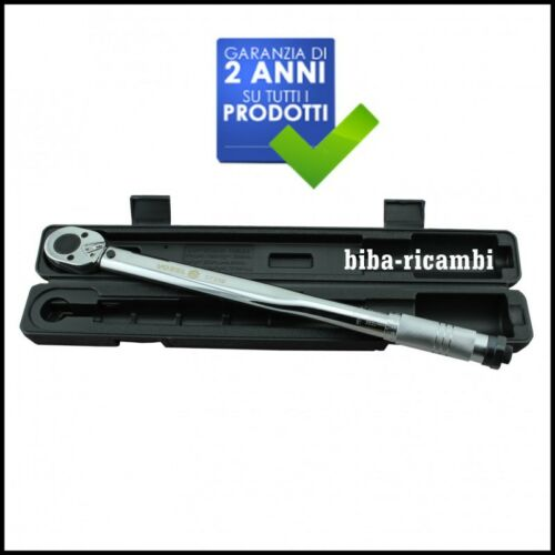 PL-57350 stock-15 CHIAVE DINAMOMETRICA 28-210Nm ATTACCO 1//2/'/' TORQUE WRENCH art