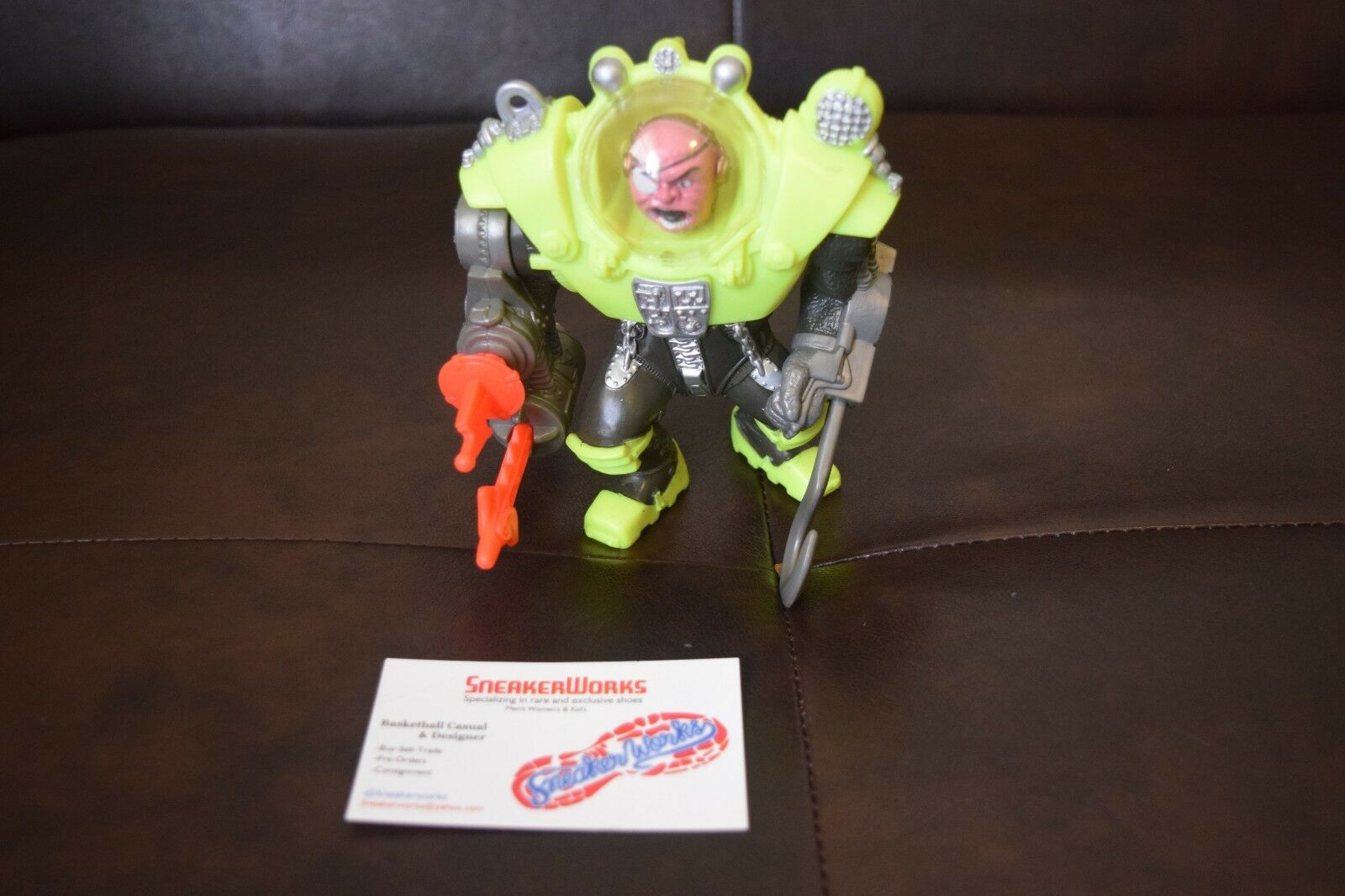 Vintage Mattel Street Sharks Dr Piranoid Action Figure Series 1 Complete 1995