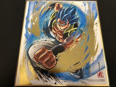 BANDAI Dragon Ball Shikishi 1 ART1 Son Goku Super Saiyajin RARE Dragonball JAPAN