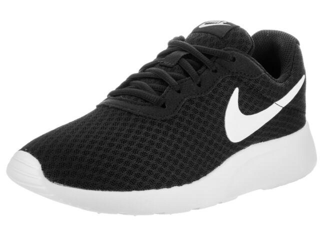 Nike Tanjun Lightweight Running Shoes Women s Size 8 Black for sale ... c0db2e89a