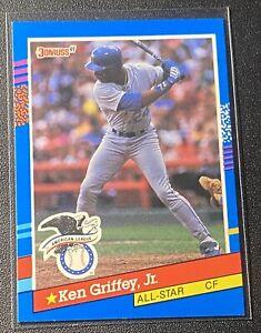 KEN GRIFFEY Jr - 1991 Donruss Baseball - AL ALL STAR #49 - Seattle Mariners