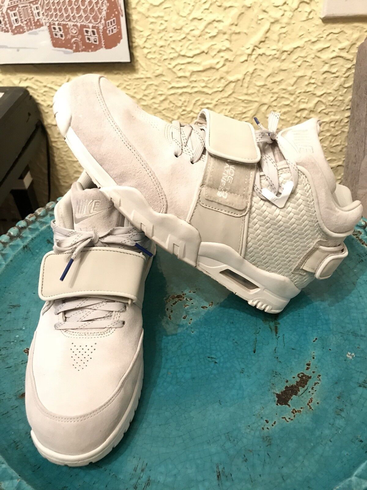 Nike Air Trainer Victor Cruz Light Bone sz 11  bo jackson 1 2 Yeezy Value Sv