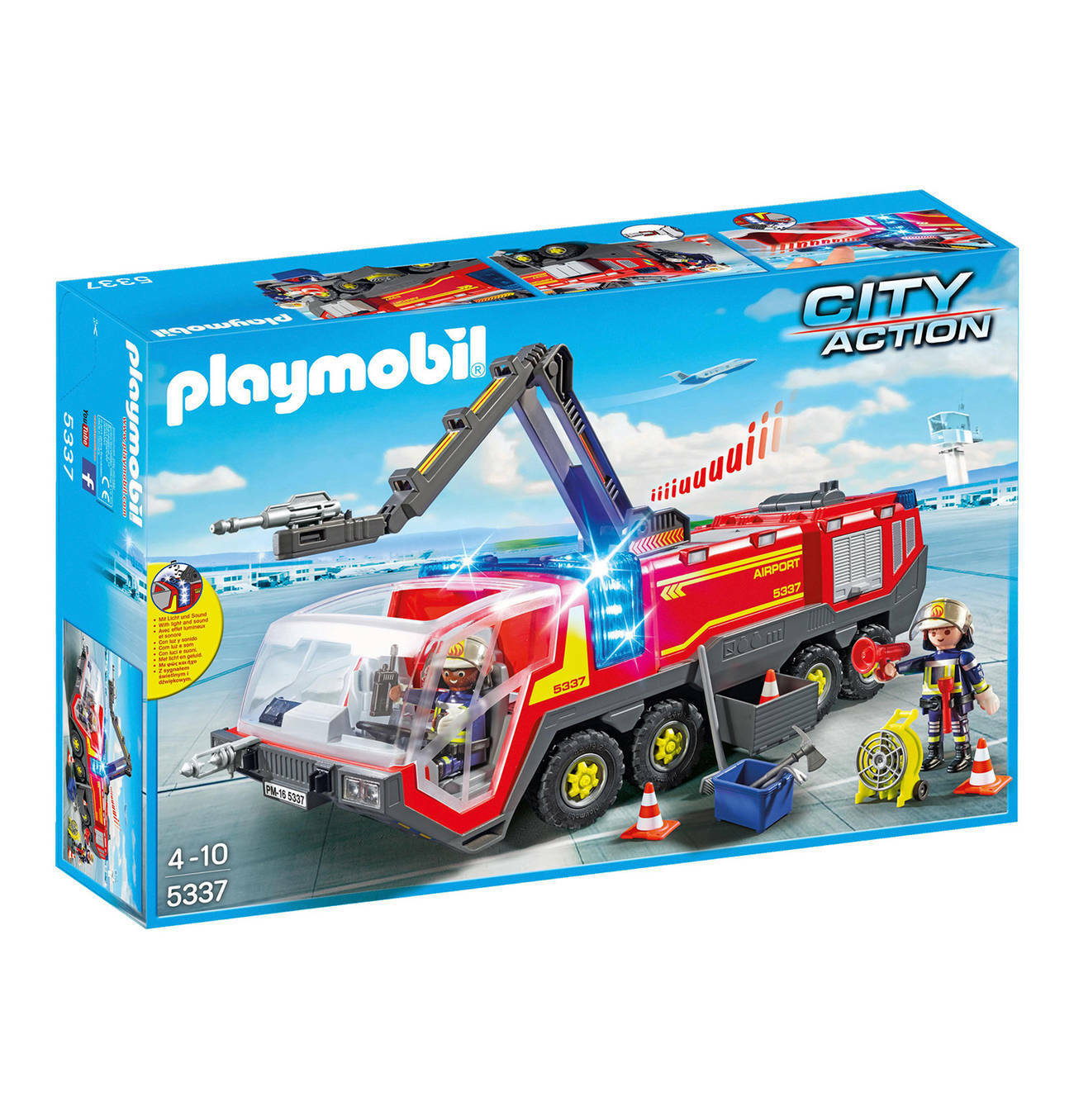 PLAYMOBIL ® City Action-Aeroporto-Autopompa - 5337-NUOVO