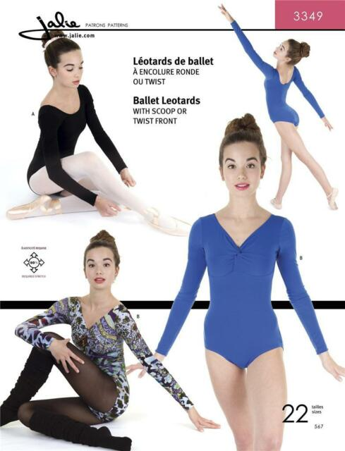 Jalie Ballet Leotard Dance Gymnastics Costume Sewing Pattern 3349 Ebay