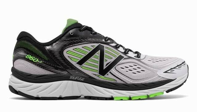 New Men's 8 new balance m860wb7 Running shoes Sneaker Green Black Asym Counter