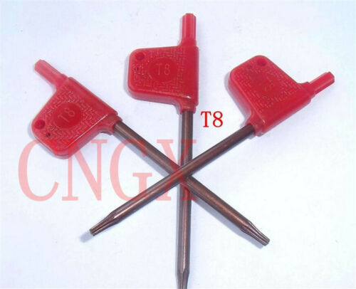 3pcs NEW T8 TORX Wrench Superior quality For HOLER