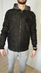meilleur service ddcc5 55906 Détails sur Veste Nike homme noir taille S style camouflage militaire