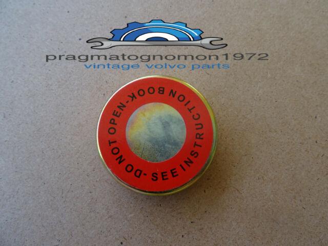 145s P1800 1800E ES Volvo Original Equipment Radiator Cap 122s 144s 142s