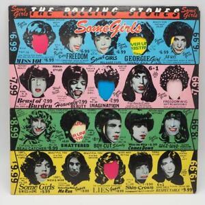 Vinyl-The-Rolling-Stones-Some-Maedchen-LP-1978-Coc-39108-Gestanztes-Vinyl-Record