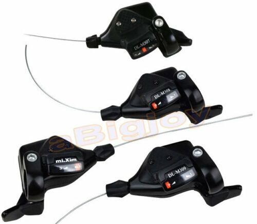 3x7//8S Thumb Shifters 21//24Speed MTB Mountain Bike Shifter Shift Levers w//Cables