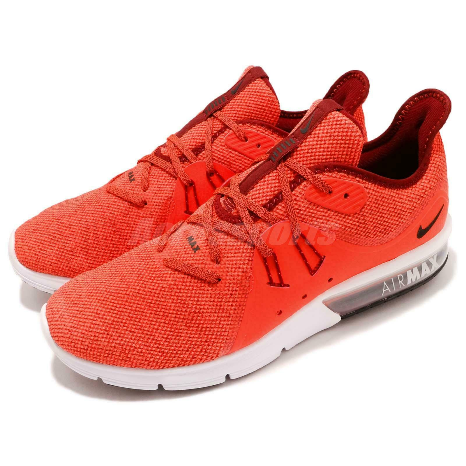 Nike Air Max Sequent 3 III Total Crimson Men Running shoes Sneakers 921694-600