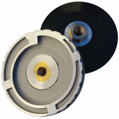 """Stadea Snail Lock Adapter  5/""""Rigid Aluminium Backer Pad Holder with 5//8/""""11 Arbor"""