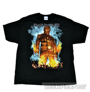 a96654eb Image is loading Iron-Maiden-Shirt-Wickerman-The-Final-Frontier-World-