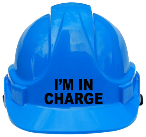 I/'m in Charge Children/'s Kids Hard Hat Safety Helmet Cap Approx 4-12 Years Gift