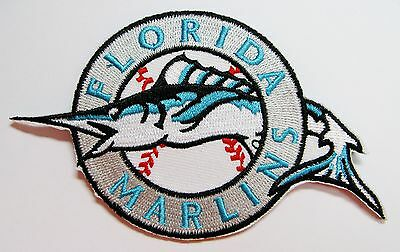 "Lot Of Baseball Florida Mariners Patch Patches 4 1/2"" X 2 1/8"" Item # 60 Enthusiastic 1"