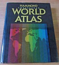 HAMMOND AMBASSADOR WORLD ATLAS 1989