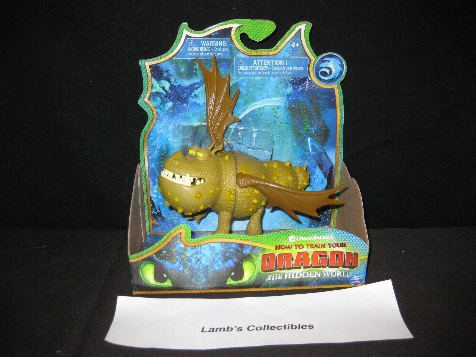 DreamWorks How to train your Dragon Dragon Dragon 3 The Hidden World 5  meatlug action figure 00c241