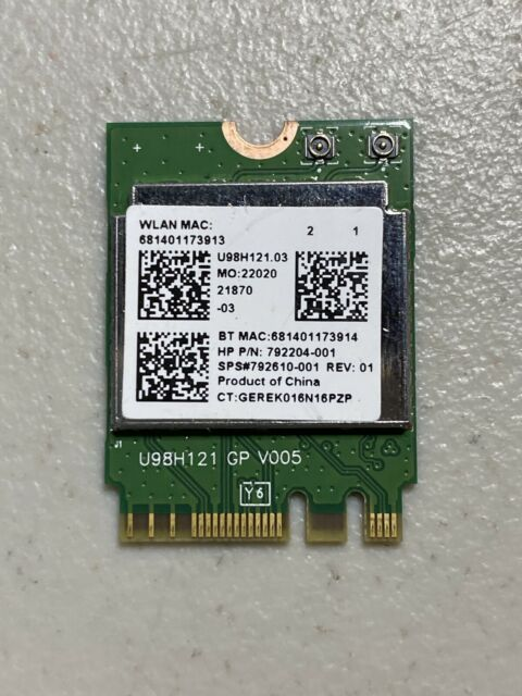 USB 2.0 Wireless WiFi Lan Card for HP-Compaq Pavilion K123.at