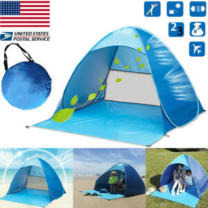 Portable-Pop-Up-Beach-Tent-Sun-Shade-Shelter-Outdoor-Camping-Fishing-Canopy-US