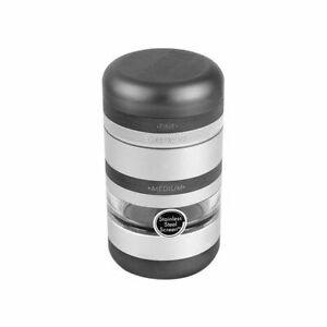 Kannastor GR8TR V2 Series Grinder Matte Sliver Jar Body Easy Change Screen