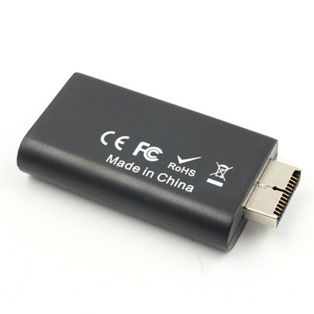 PS2 to HDMI Video Converter Adapter with 3.5mm Audio Output for HDTV HDMI ED %p